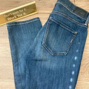 Express mid rise skinny jean